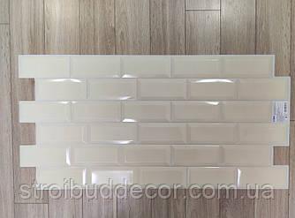 Декоративні панелі бежевий цегла 960* 485 мм 1шт