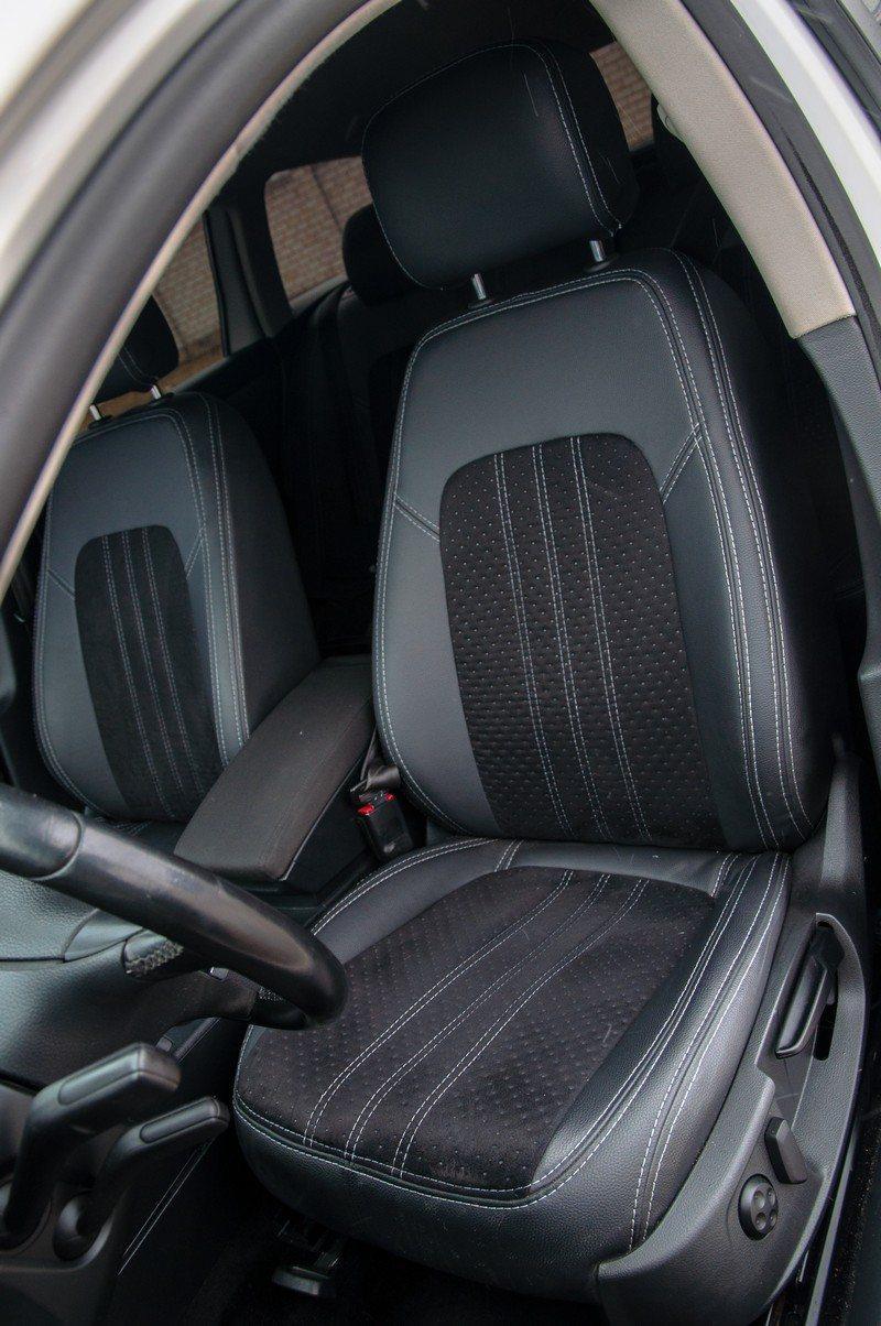 Чехлы Volkswagen Passat B7 2010- Алькантара