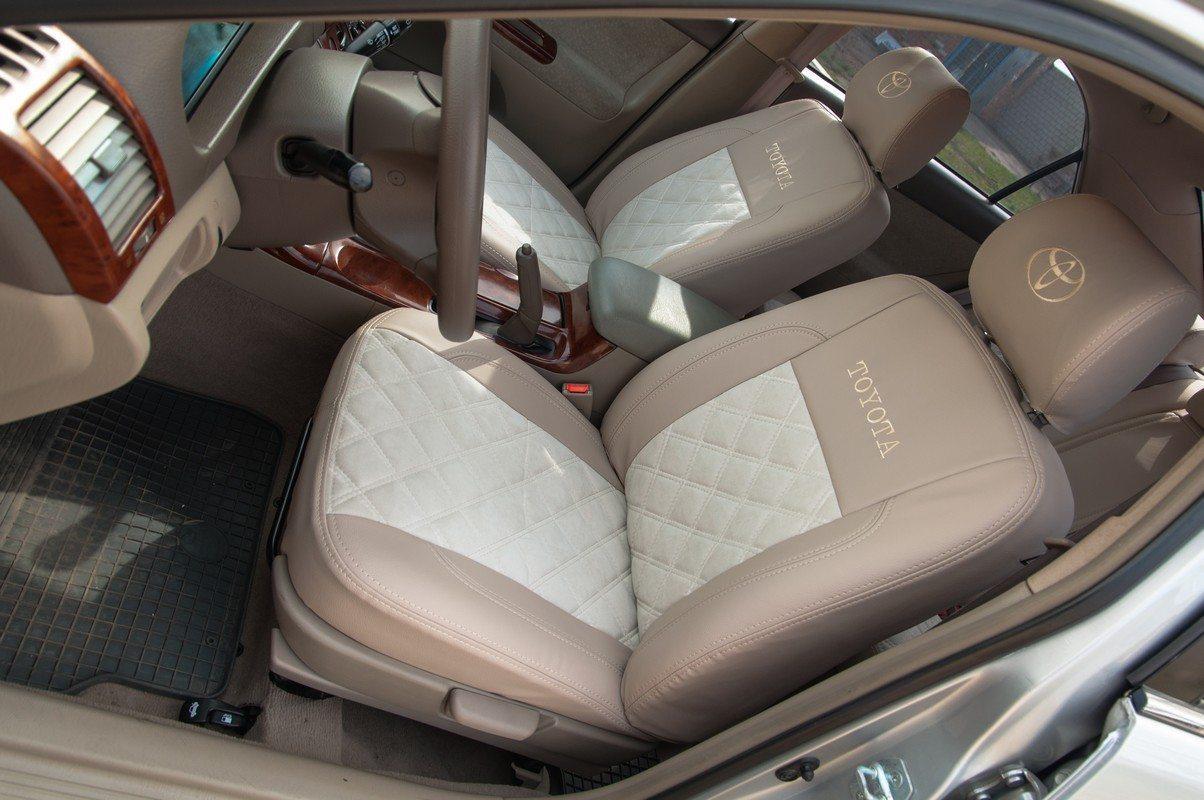 Чехлы Toyota Camry XV30 2002-2006 Алькантара