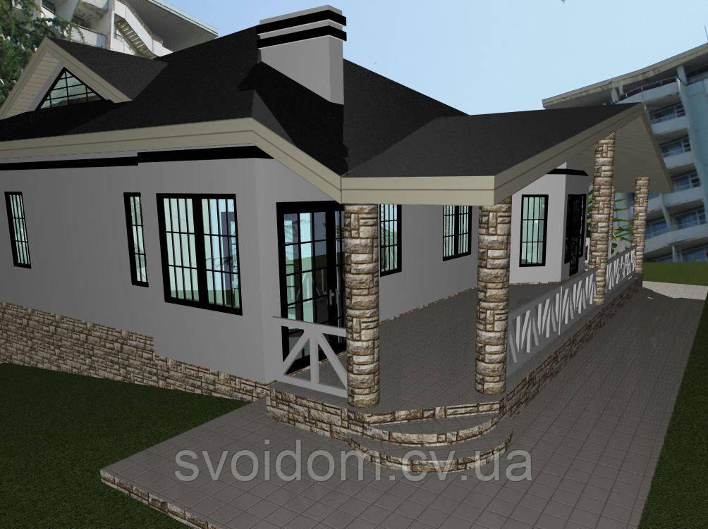 Проектирование домов, коттеджей, особняков и строительные услуги по Черновцах и по Черновицкой области