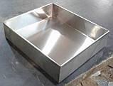 Листи 600х400х20 з нержавіючої сталі 201, фото 5
