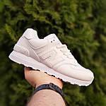 Женские кроссовки New Balance 574 (белые) 2970 демисезонная спортивная повседневная обувь, фото 9