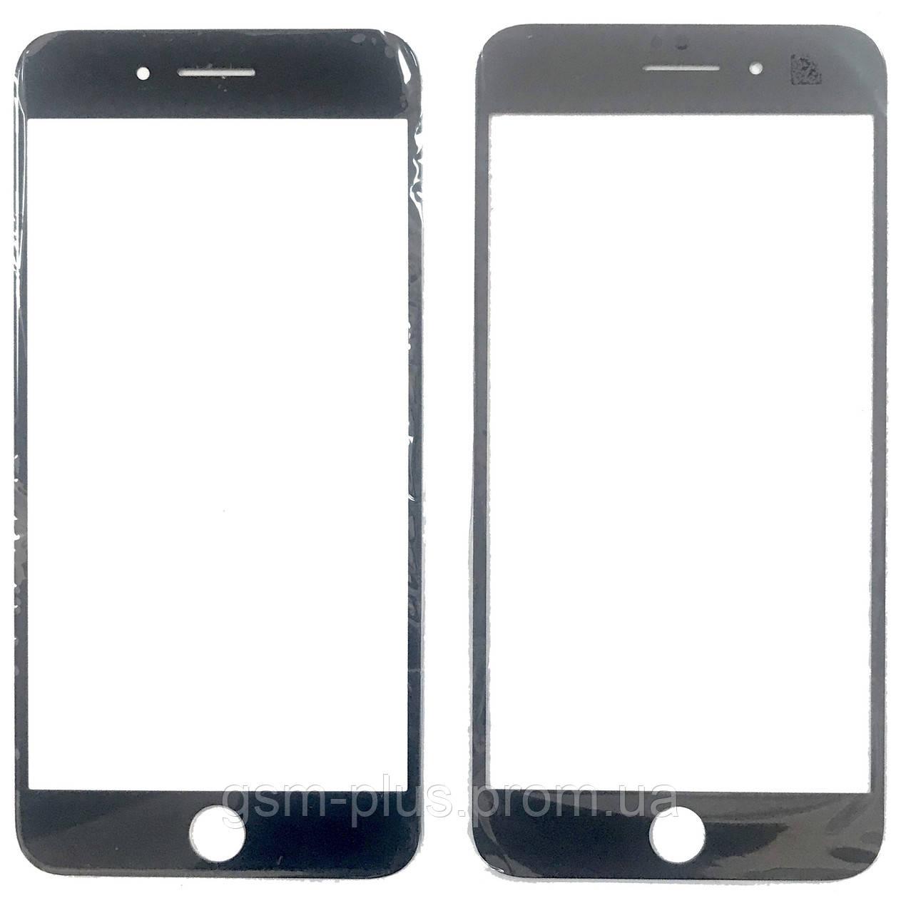 Стекло дисплея iPhone 8 Plus (5.5) Black (для переклейки)