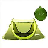 Палатка KingCamp Venice (green), двохместная палатка, палатка туристическая, палатка для отдыха, фото 2