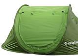 Палатка KingCamp Venice (green), двохместная палатка, палатка туристическая, палатка для отдыха, фото 3