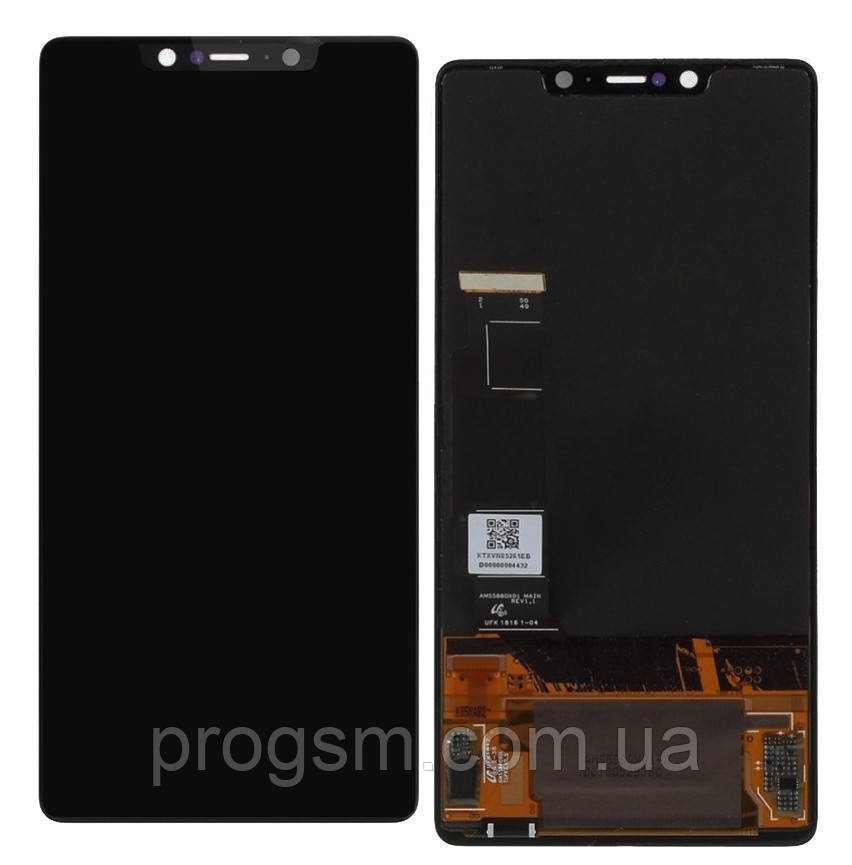 Дисплей Xiaomi Mi8 SE complete with touch Black (Small LCD)