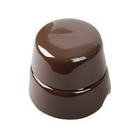 Распаячная коробка коричневый ретро маленькая D60
