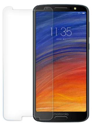 Гідрогелева захисна плівка на Motorola Moto G6 на весь екран прозора, фото 2