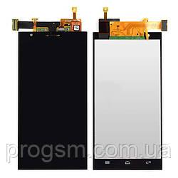 Дисплей Huawei Ascend P2 В Сборе С Сенсором Black