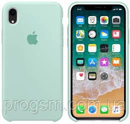 Чохол Silicone Case для iPhone XR OR Spearmint