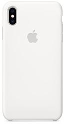Чохол Silicone Case для iPhone XS Max White