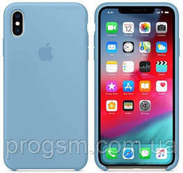 Чохол Silicone Case для iPhone XS Max OR Cornflower