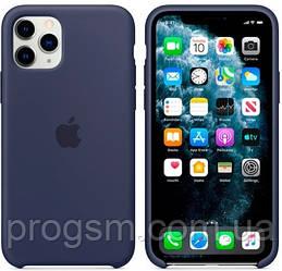 Чохол Silicone Case для iPhone 11 Pro OR Midnight Blue