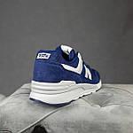 Мужские рефлективные кроссовки New Balance 997 (синие) 10380 демисезонная спортивная качественная обувь, фото 2
