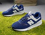 Мужские рефлективные кроссовки New Balance 997 (синие) 10380 демисезонная спортивная качественная обувь, фото 10
