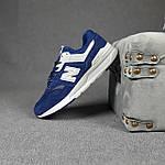 Мужские рефлективные кроссовки New Balance 997 (синие) 10380 демисезонная спортивная качественная обувь, фото 4