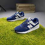 Мужские рефлективные кроссовки New Balance 997 (синие) 10380 демисезонная спортивная качественная обувь, фото 5