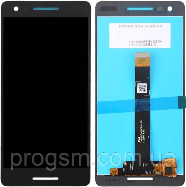 Дисплей Nokia 2.1 TA-1080 complete Black