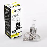 Галогенная лампа Solar H3 StarLight +30% 12V  55W 1203