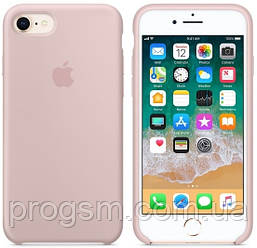 Чохол Silicone Case для iPhone 7, iPhone 8 OR Pink Sand