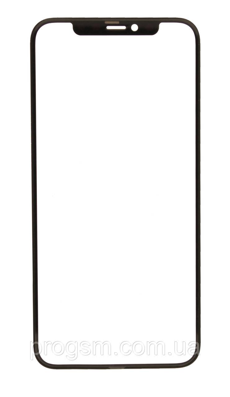 Скло дисплея iphone x, iphone xs + oca (5.8) для переклеювання black