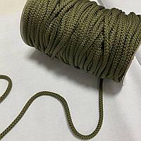 Шнурок круглий хакі, діаметр 0,5 см, фото 1