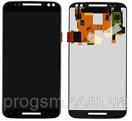 Дисплей Motorola Moto X Style XT1570, XT1572 в сборе с сенсором Black