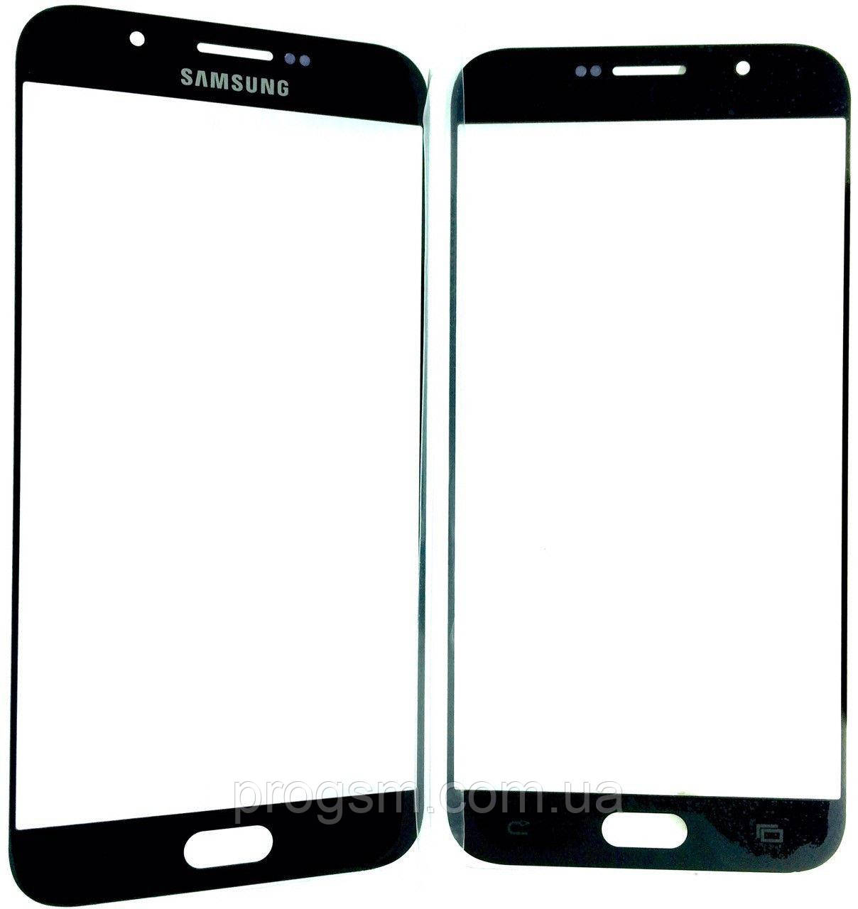 Стекло Дисплея Samsung A8 Sm-A8000 Black (Для Переклейки)