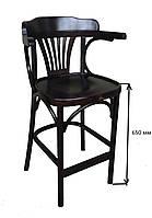 Высокий барный стул венский ирландский \ стул віденський барний Н=650 мм