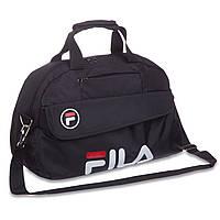 Сумка спортивная для спортзала, фитнеса FILA 8196 черный