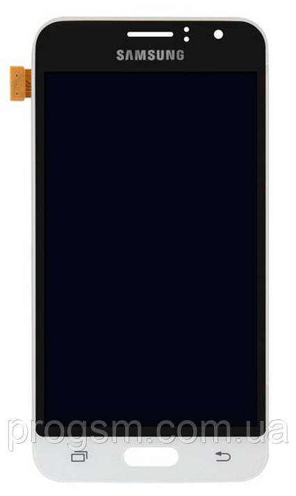 Дисплей Samsung Galaxy J1 2016 SM-J120F complete with backlight White