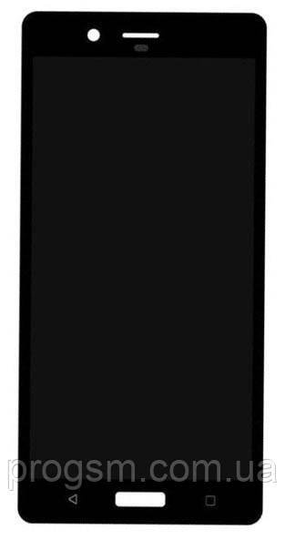 Дисплей Nokia 8 Dual Sim complete Black