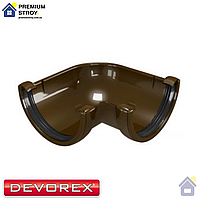 Угол желоба 90 градусов Devorex Classic 120 Коричневый