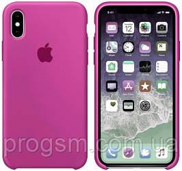 Чохол Silicone Case для iPhone XS Max OR Dragon Fruit