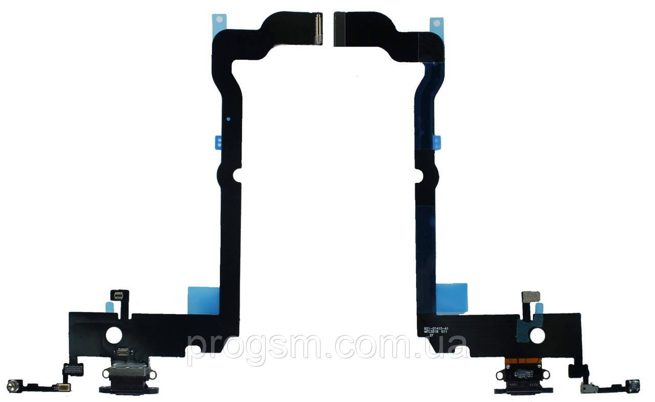 "Шлейф iPhone XS Max (6.5"") Charge complete Black"