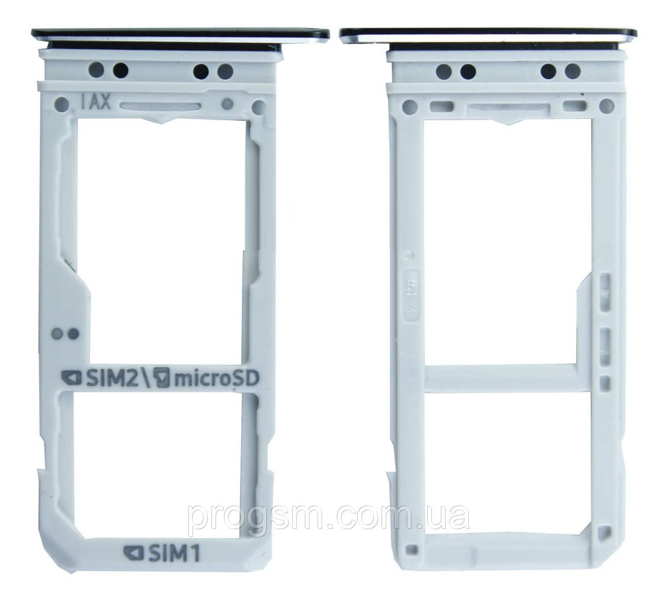 Сим Держатель Samsung Galaxy Note 8 N950 Black