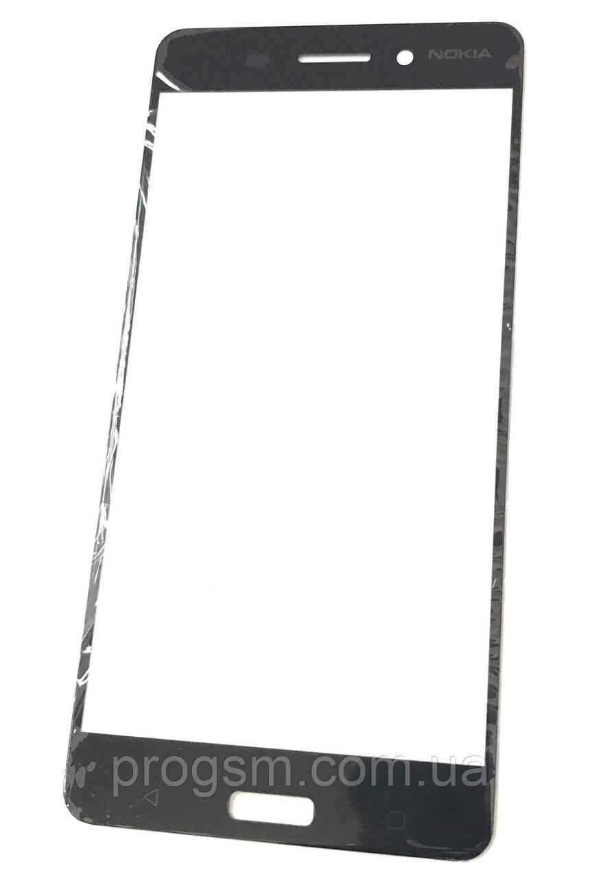 Стекло дисплея для переклейки Nokia 6 (TA-1000) Black