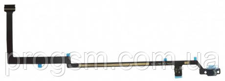 Шлейф iPad 5 Air центральна кнопка Black (A1474, A1475, A1476, A1822, A1823)