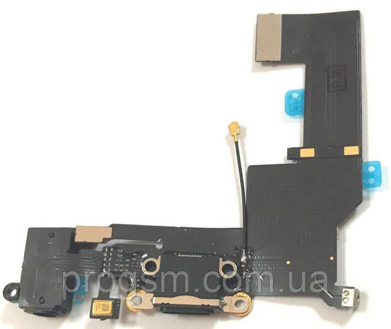 Шлейф iPhone 5SE Charge Black