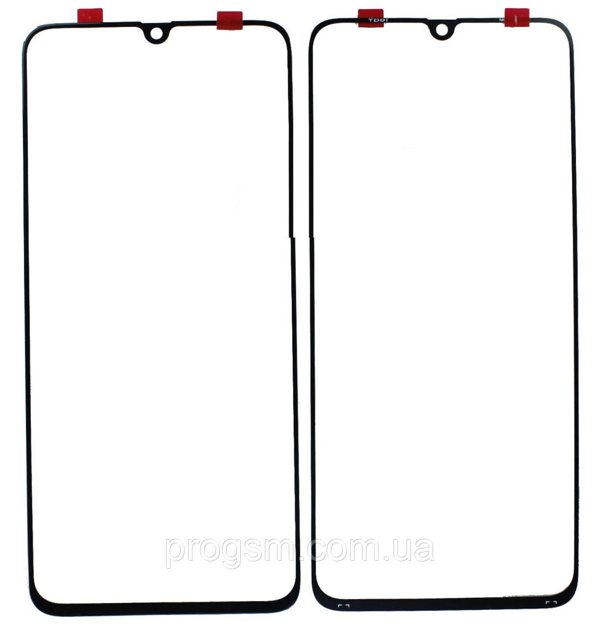 Стекло дисплея Samsung Galaxy A70 SM-A705 (2019) для переклейки Black