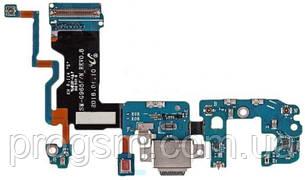 Разъем Зарядки Samsung Galaxy S9 Plus Sm-G965 (Со Шлейфом) H/C