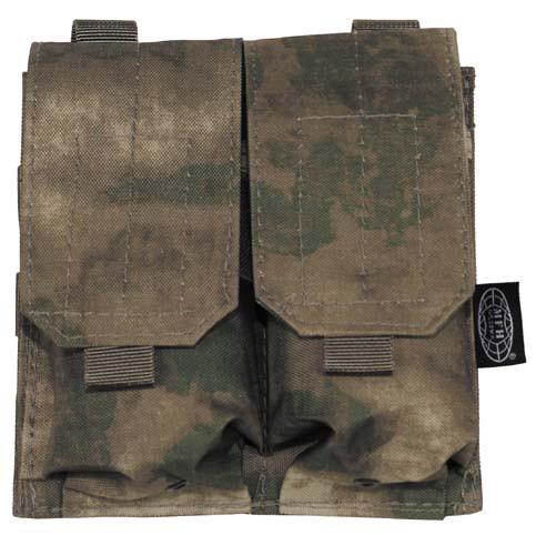 Подсумок  для магазинов АК двойной Molle A-TACS FG Max Fuchs 30615E