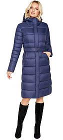 Куртка женская зимняя цвет синий модель 31052