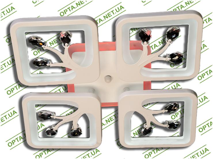 Светодиодная люстра S8157/4GR LED 3color dimmer (Серый) 85W