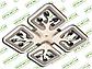 Светодиодная люстра S8157/4GR LED 3color dimmer (Серый) 85W, фото 4