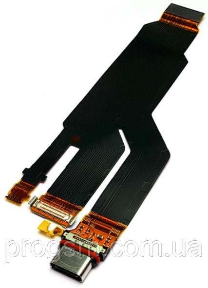 Разъем Зарядки Sony Xperia Xz, Xz Dual (Со Шлейфом) H/C