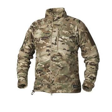 Кофта-Куртка Helikon Alpha Tactical мультикам (CAMOGROM)