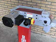 Стрічкова шліфувальна машина по металу Holzmann MSM 100L, фото 2