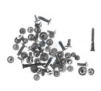 Набор винтов для iPhone X, черный, полный комплект