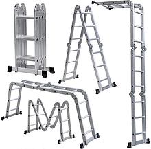 Лестница Aloft 4x4.3x4, трансформеры - комбинированные и алюминивые.